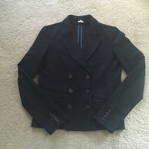 J Crew Felted Wool Double Breasted Blazer, 4